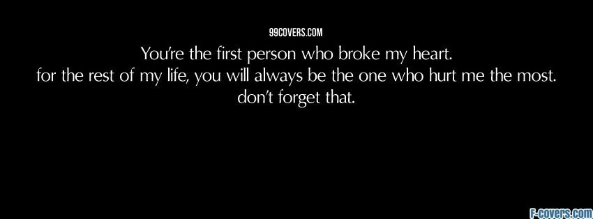 Broken Hearted Quotes Cover Photo: Heart Broken Quotes For Facebook. QuotesGram