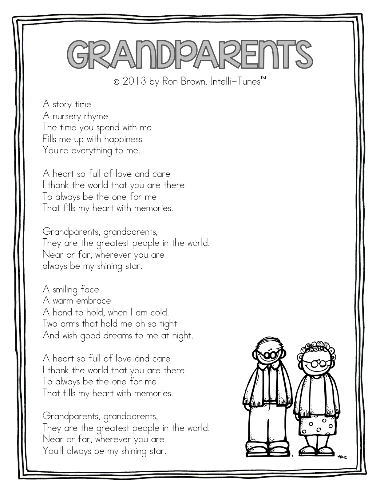 grandparents day song - 736×952