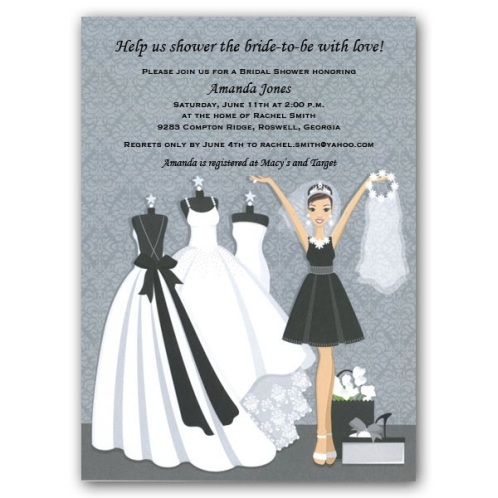 Bridal Shower Invitations Sayings as adorable invitations example