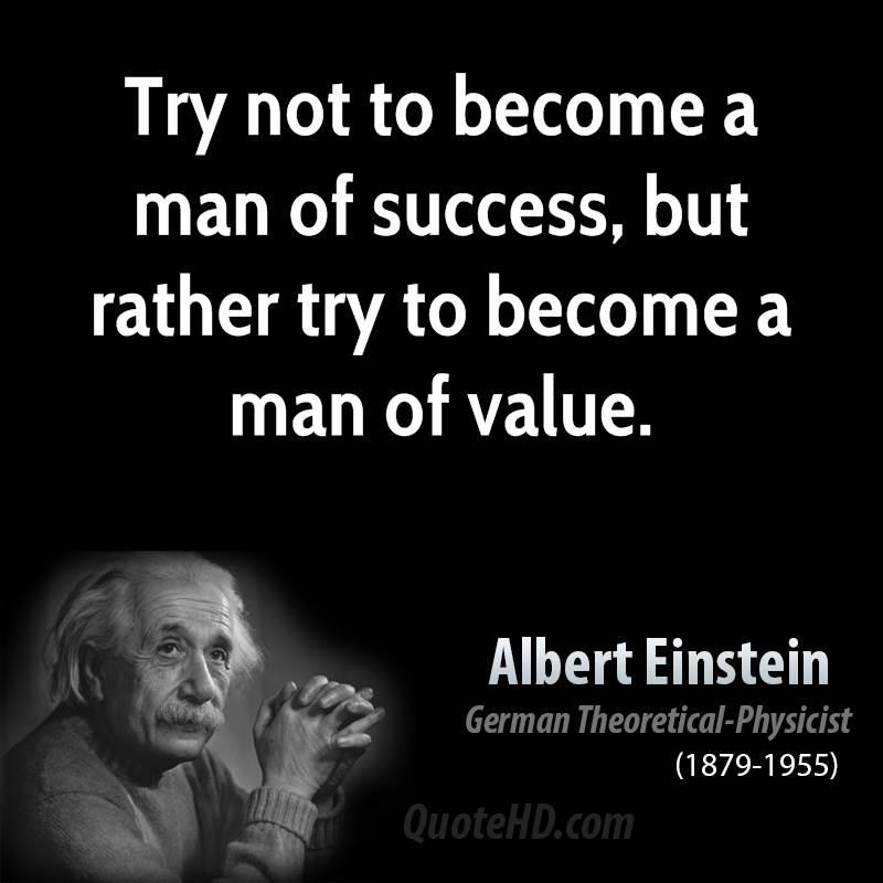 Quotes Said By Albert Einstein: On Success Quotes By Einstein. QuotesGram