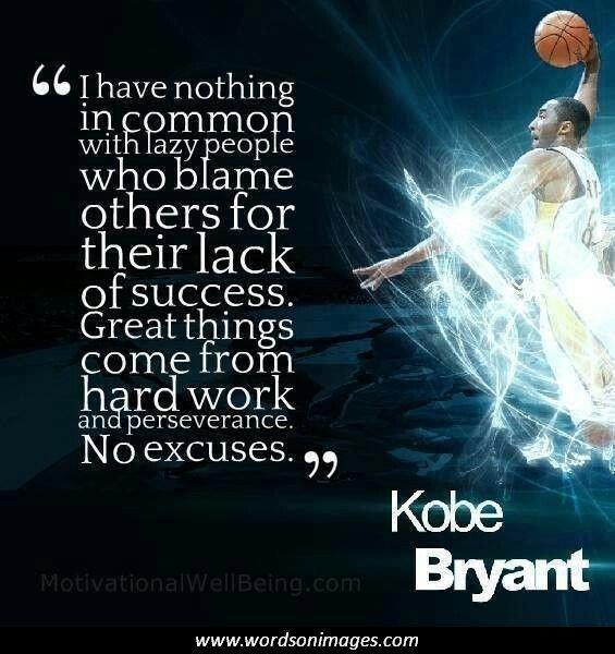 inspirational basketball quotes kobe bryant quotesgram