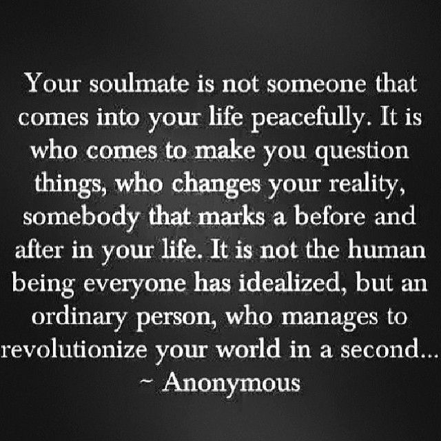 Soulmates Love Quotes About Life: Soul Mate Quotes And Sayings. QuotesGram