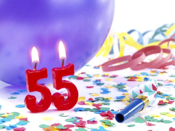 Happy 55th Birthday Quotes Quotesgram