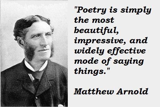 essays by matthew arnold