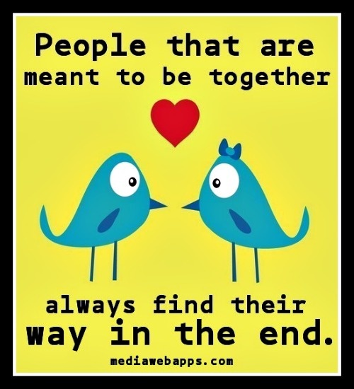 If Two People Are Meant To Be Quotes