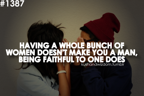 how to become faithful in a relationship