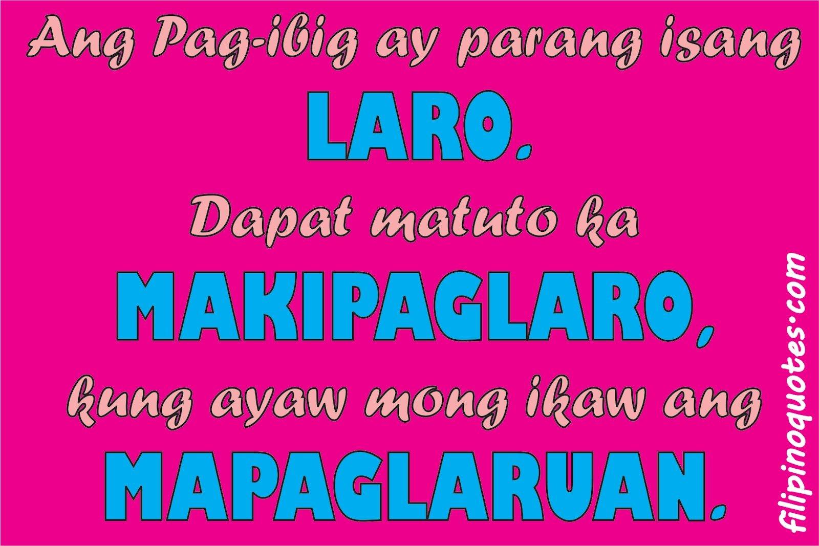 Joke Quotes Tagalog Sweet: Tagalog Life Quotes. QuotesGram