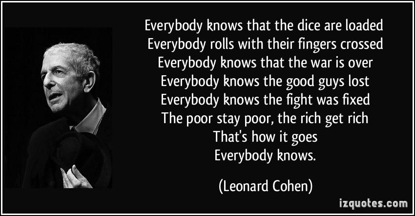 Leonard Cohen Quotes. QuotesGram