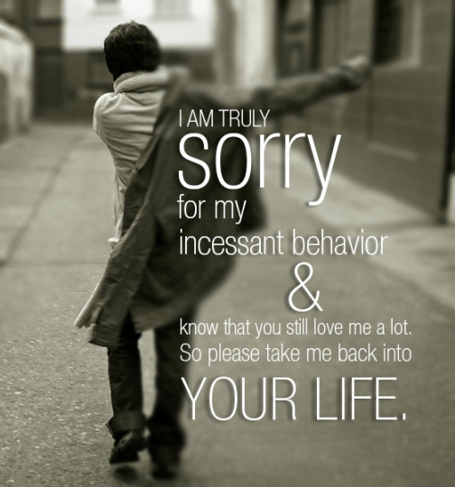 Sorry Quotes For Him To Her: Romantic Apologies Quotes. QuotesGram