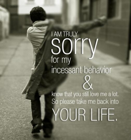 Sorry Love Quote: Romantic Apologies Quotes. QuotesGram