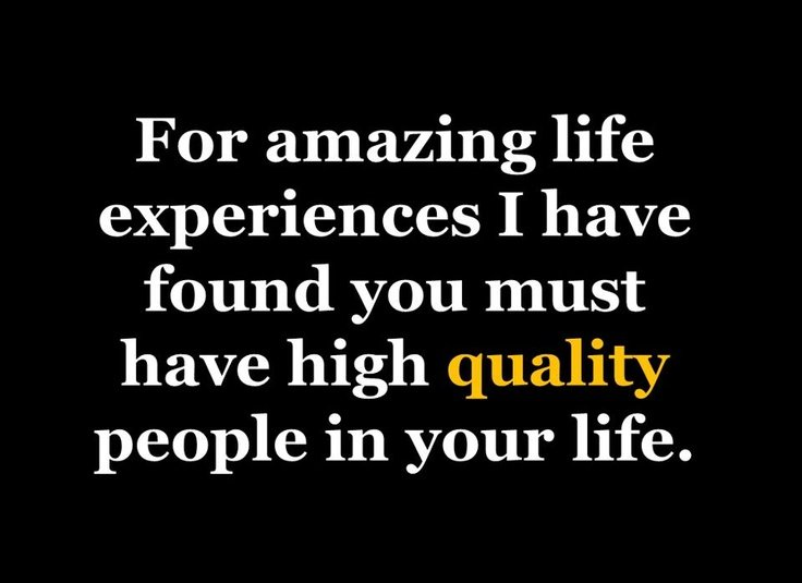 Quality Not Quantity Quote: Quality People Quotes. QuotesGram