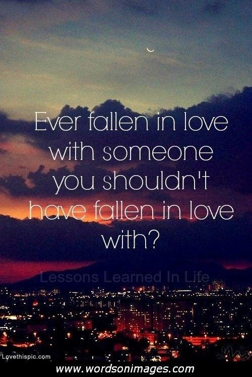 Quotes About Love Relationships: Famous Quotes About Forbidden Love. QuotesGram