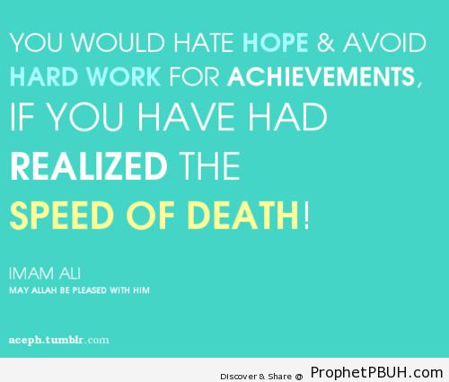 Islamic Quotes On Death. QuotesGram
