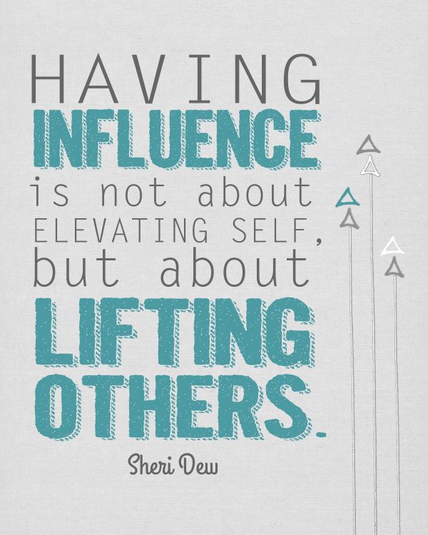 Youth Encouragement Quotes: Influence Others Quotes. QuotesGram