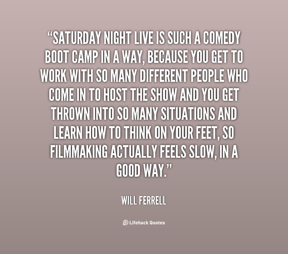 Saturday Night Out Quotes: Saturday Night Live Will Ferrell Quotes. QuotesGram