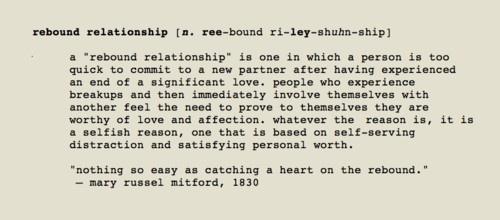 Rebound boyfriend relationship ex a is in my 4 Juicy