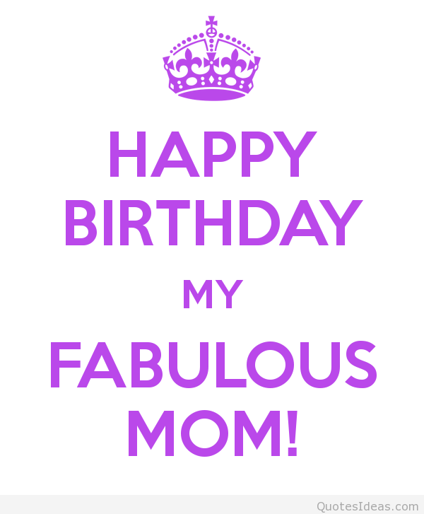 Birthday Quotes For Mom: Happy Birthday Mom Quotes For Facebook. QuotesGram