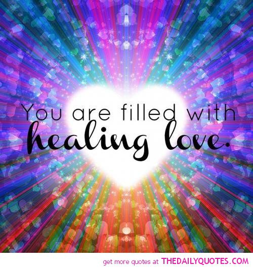 healing power of love quotes quotesgram
