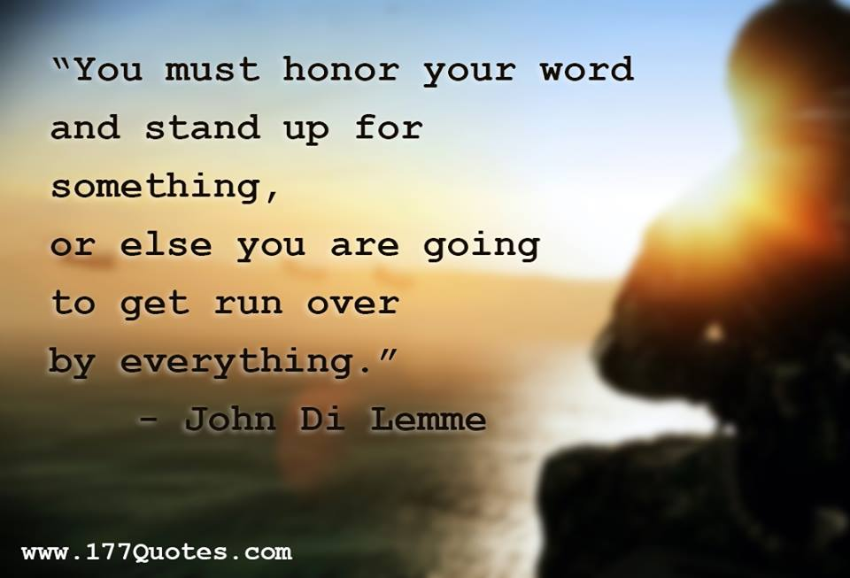 Heart Of A Warrior Quotes: Quotes About Having Honor. QuotesGram