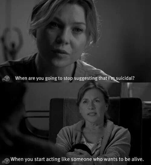 I Love You Quotes: Sad Greys Anatomy Quotes. QuotesGram