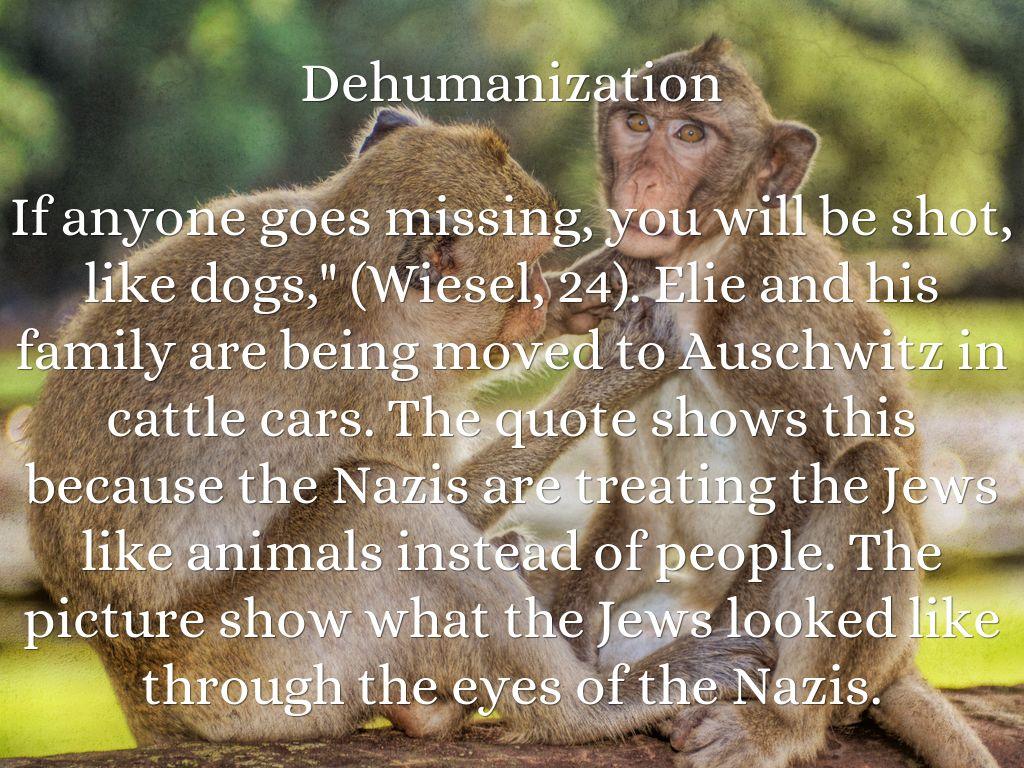 Articles: Dehumanization