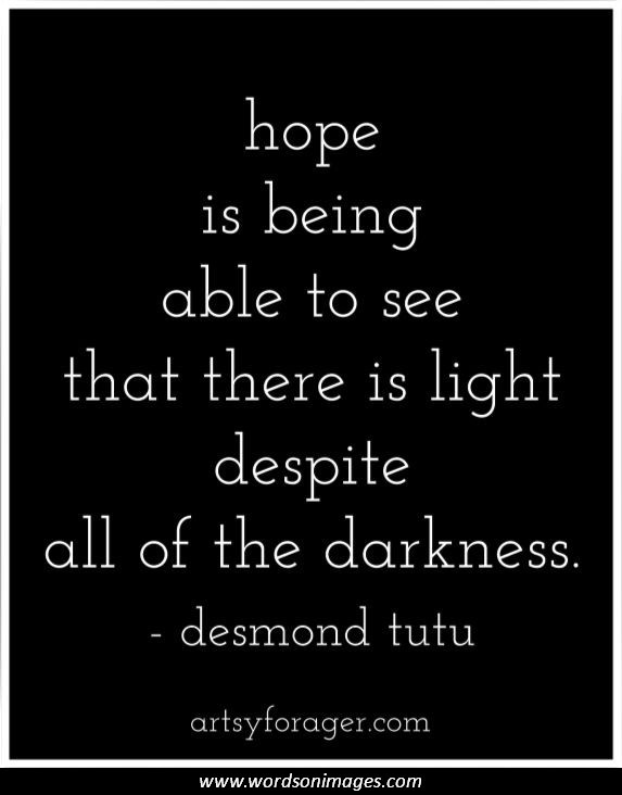 Finding hope quotes quotesgram Inspirational quotes about hope