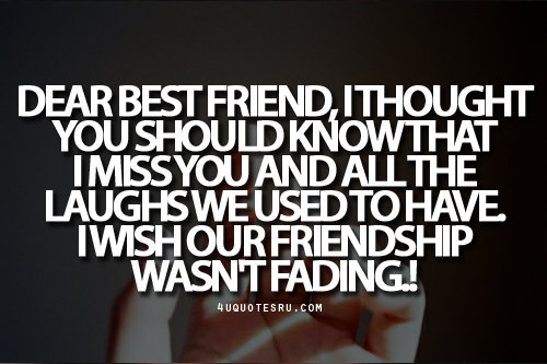 Quotes About Fading Love: Fading Away Quotes Best Friends. QuotesGram