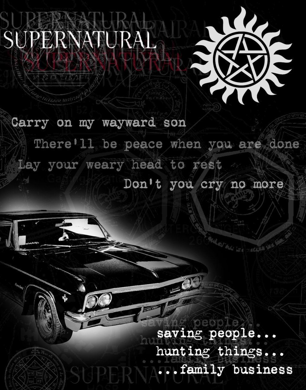Awesome Supernatural Quotes. QuotesGram  Awesome Superna...
