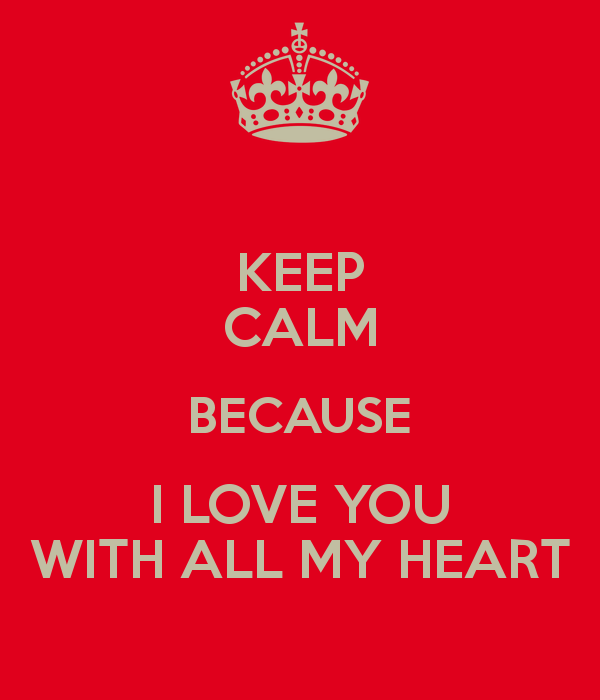 Love You With All My Heart Quotes. QuotesGram