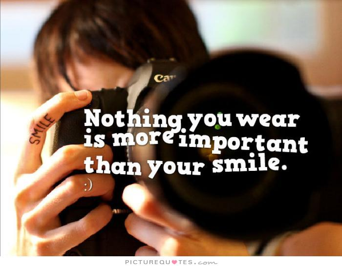 wear your smile motivational quotes quotesgram