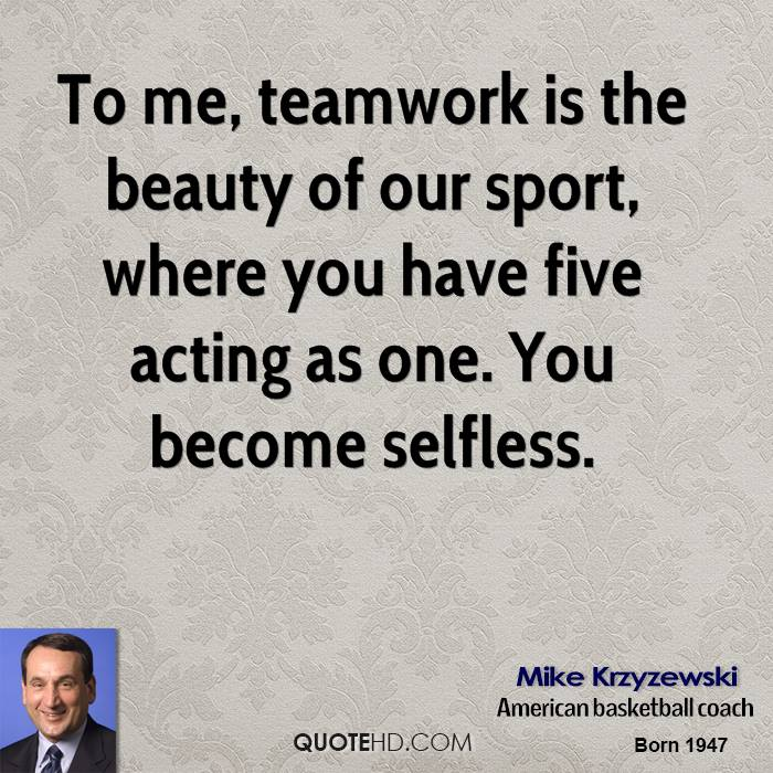 Motivational Quotes For Sports Teams: Famous Coaches Quotes On Teamwork. QuotesGram
