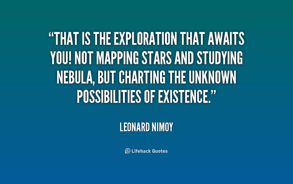 Exploration Quotes Quotesgram: Quotes About Exploring The Unknown. QuotesGram