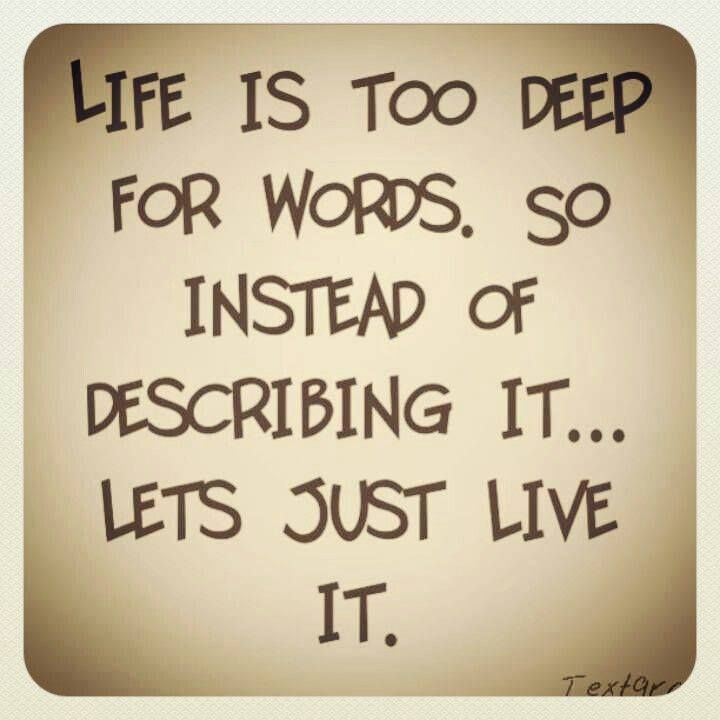 Love Quotes About Life: Quotes About Living Life Fully. QuotesGram