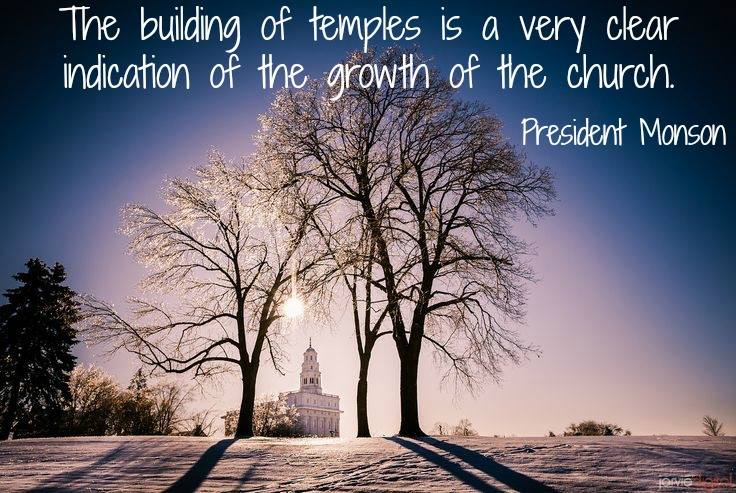 Inspirational Quotes Lds Temple. QuotesGram