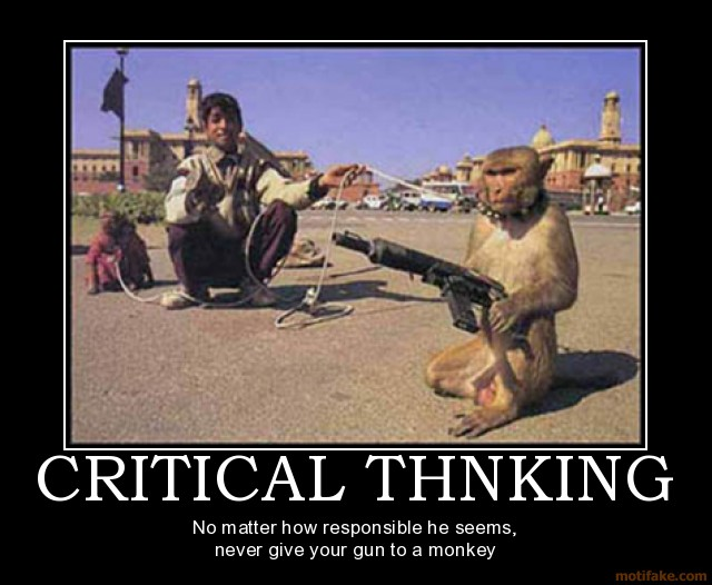 Funny Quotes About Critical Thinking Quotesgram