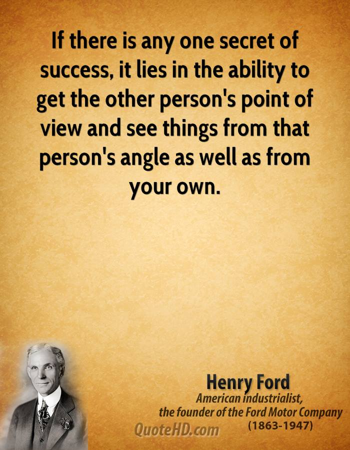 the successful life of henry ford Quotes have the depth of oceans, vastness of skies & package of unlimited inspiration in them they wire us with momentary strength at times.