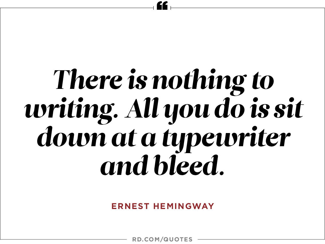 ernest hemingways inspiration The old man and the sea study guide contains a biography of ernest  hemingway, quiz questions, major themes, characters, and a full.