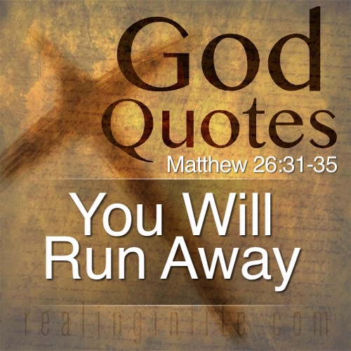 Quotes About Running Away From Life: Running Away From God Quotes. QuotesGram