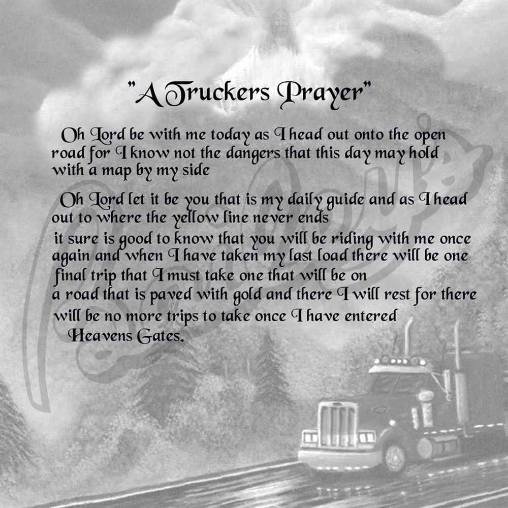 trucker quotes and poems  quotesgram