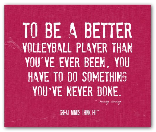 Motivational Team Quotes Volleyball: Volleyball Quotes And Sayings. QuotesGram