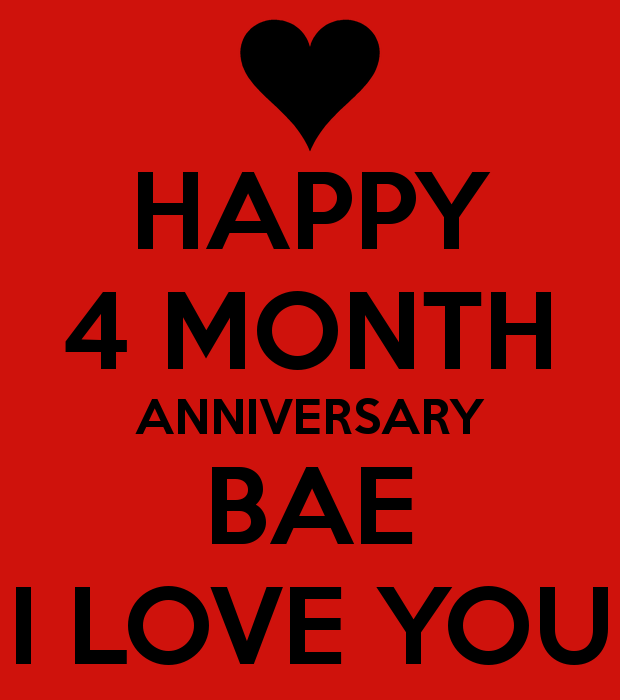Happy One Month Anniversary Quotes: 4 Month Anniversary Quotes. QuotesGram