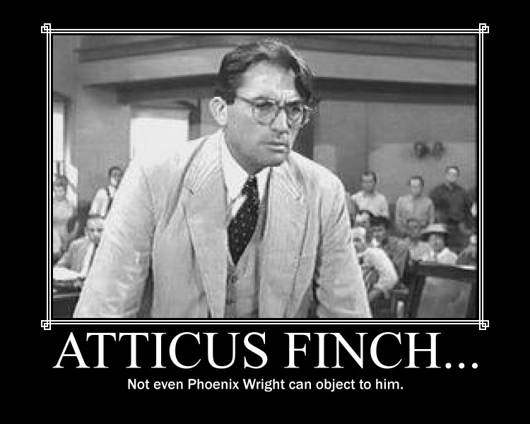 atticus finch is 31 quotes have been tagged as atticus-finch: harper lee: 'i wanted you to see what real courage is, instead of getting the idea that courage is a man wit.