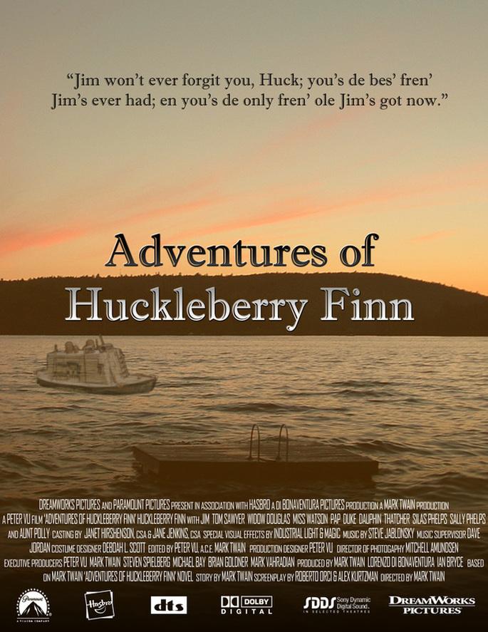 huckaberry finn essay