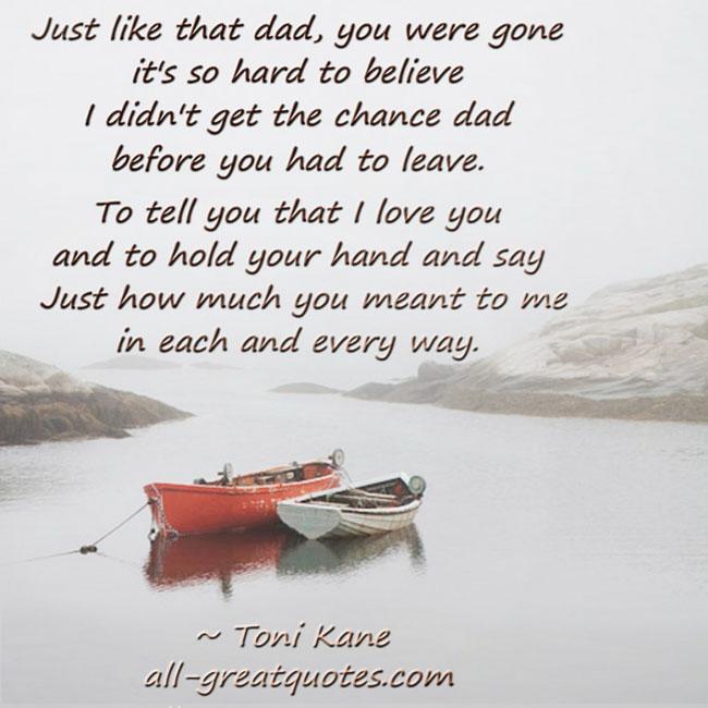 Memorial Quotes For Parents Quotesgram: Sympathy Fathers Death Quotes. QuotesGram
