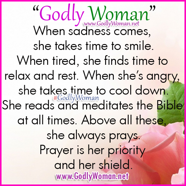 Inspirational Quotes For Christian Ladies: Godly Women Quotes. QuotesGram