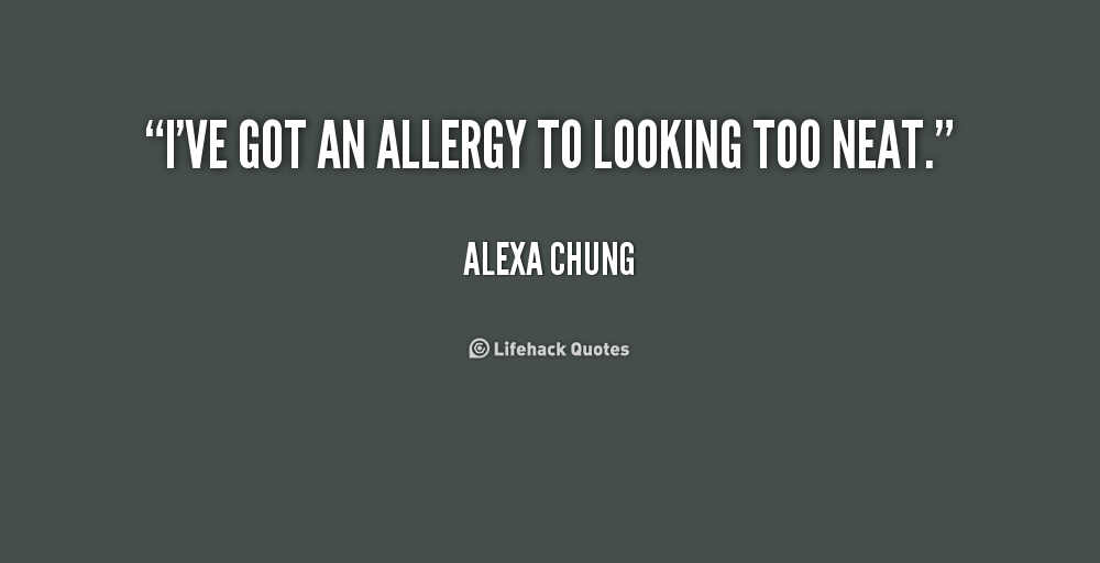 Funny Quotes About Allergies: Quotes About Allergies. QuotesGram
