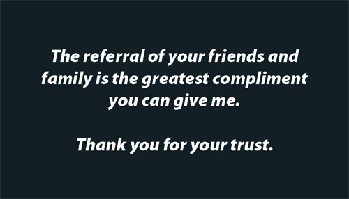 Business Referral Quotes Quotesgram