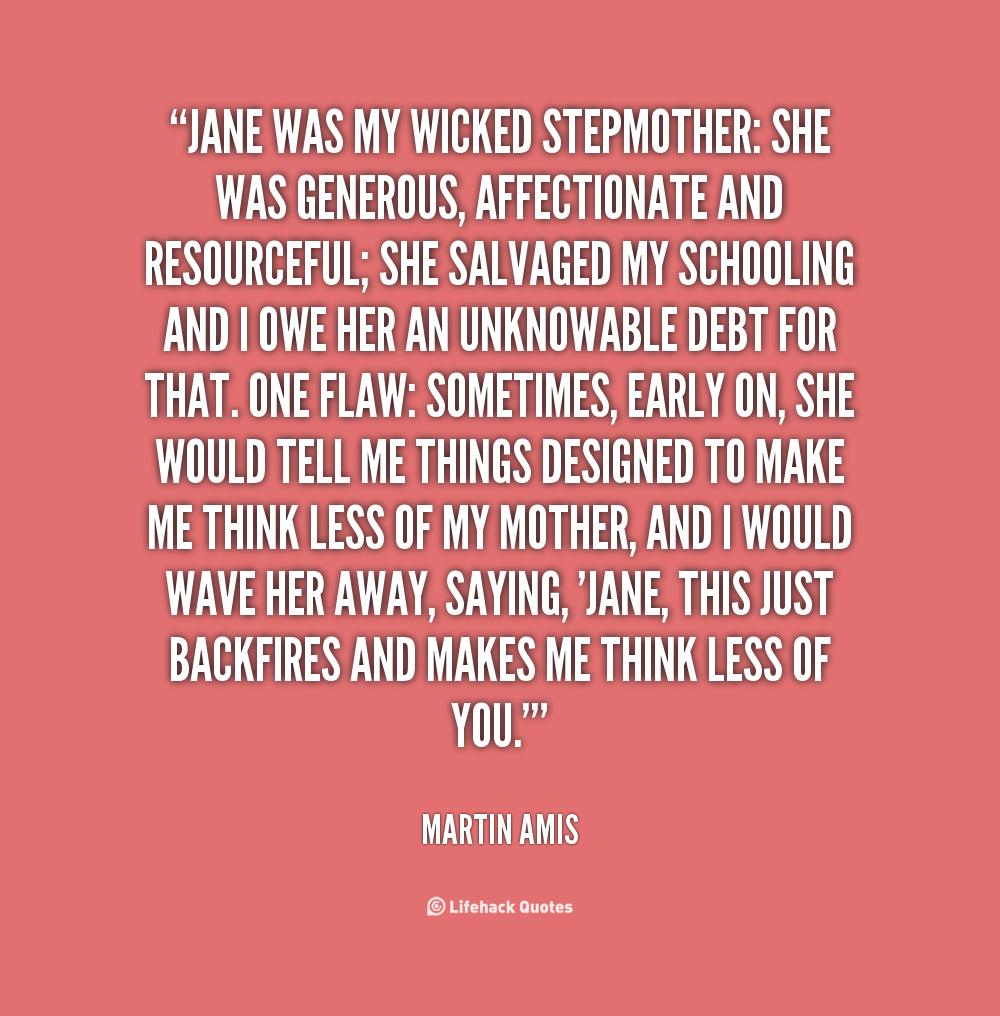Bad Stepmother Quotes. QuotesGram