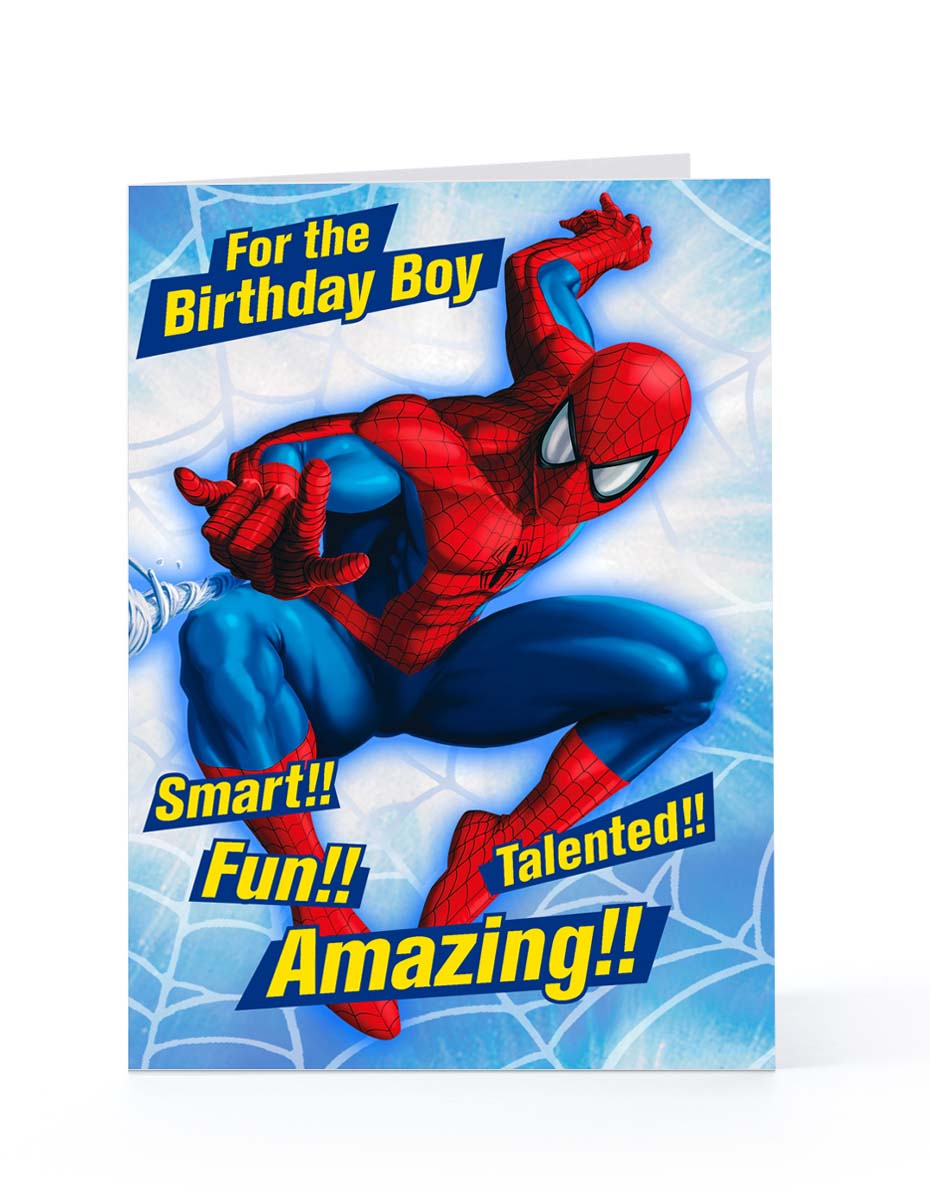 Spider Man Happy Birthday Quotes Quotesgram