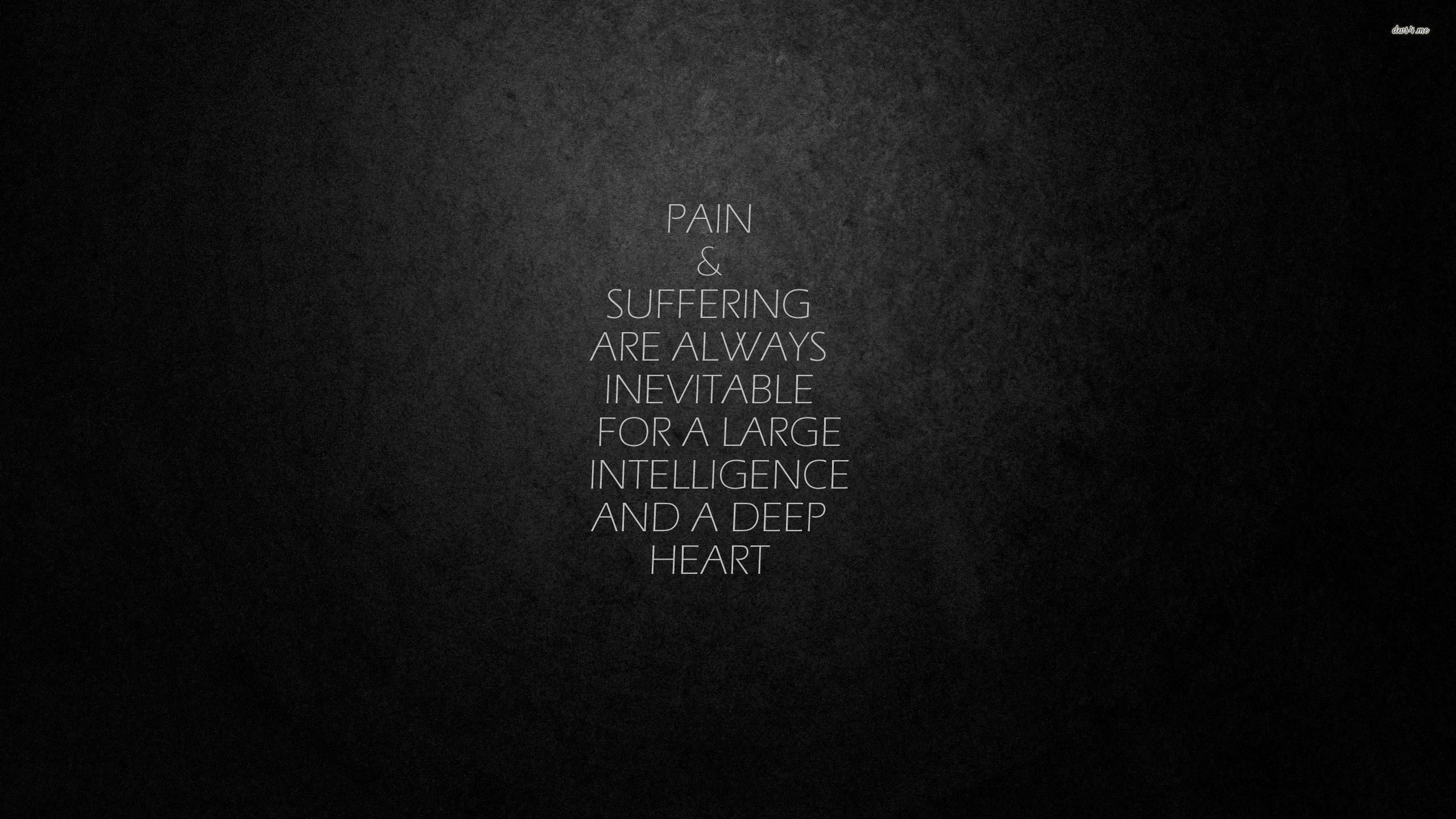 595215017 23182 pain and suffering 2560x1440 quote wallpaper